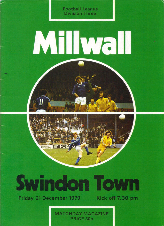 <b>Tuesday, March 4, 1980</b><br />vs. Millwall (Away)