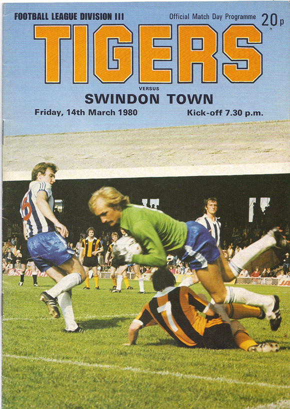 <b>Friday, March 14, 1980</b><br />vs. Hull City (Away)