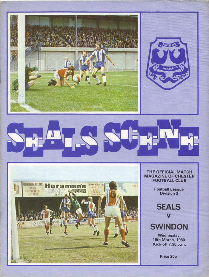 <b>Wednesday, March 19, 1980</b><br />vs. Chester (Away)