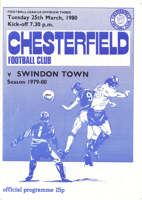 <b>Tuesday, March 25, 1980</b><br />vs. Chesterfield (Away)