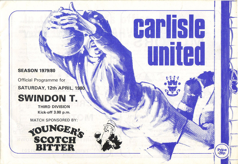<b>Saturday, April 12, 1980</b><br />vs. Carlisle United (Away)