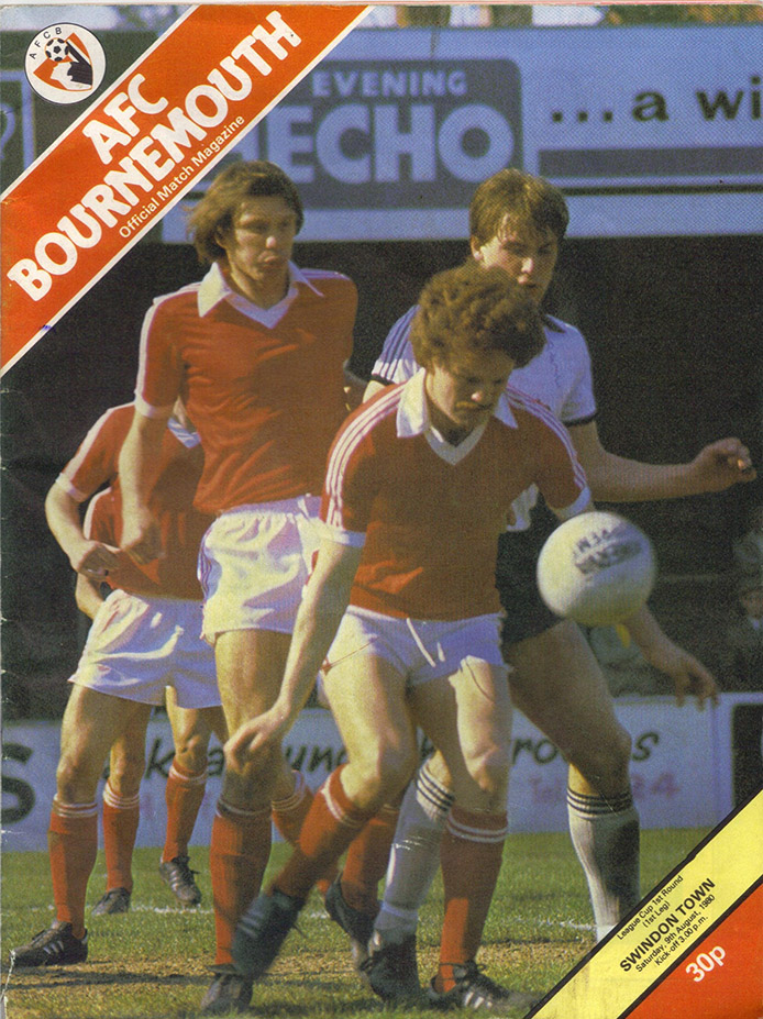 Saturday, August 9, 1980 - vs. AFC Bournemouth (Away)