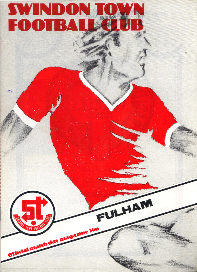Saturday, August 23, 1980 - vs. Fulham (Home)