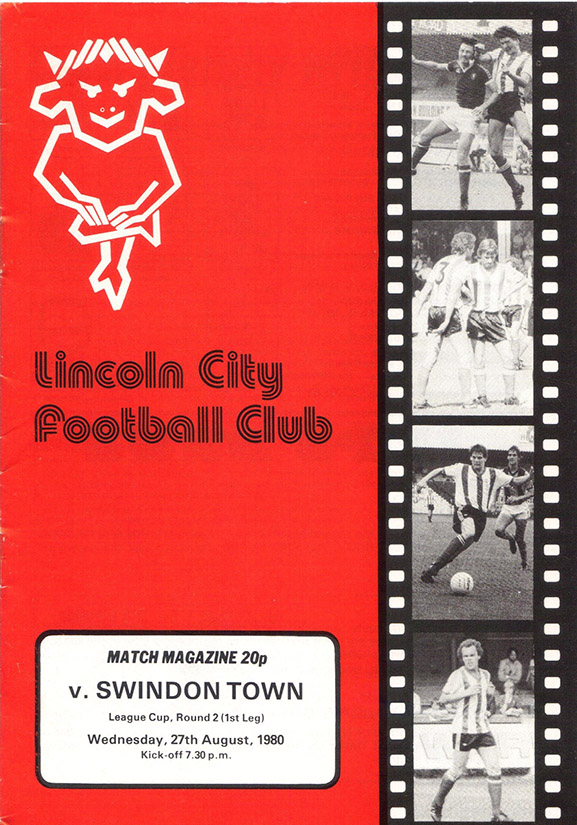 Wednesday, August 27, 1980 - vs. Lincoln City (Away)