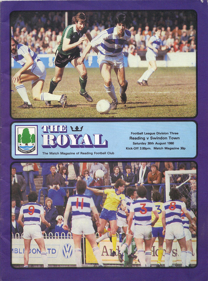 Saturday, August 30, 1980 - vs. Reading (Away)