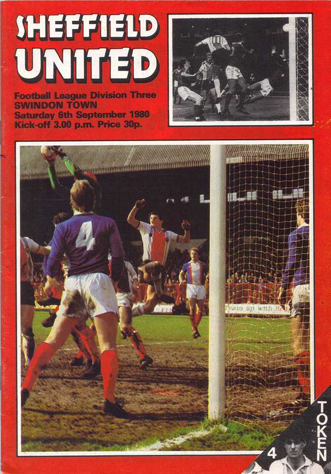 Saturday, September 6, 1980 - vs. Sheffield United (Away)