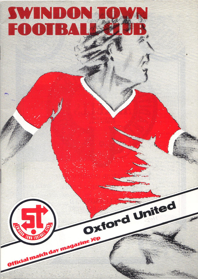 Tuesday, September 16, 1980 - vs. Oxford United (Home)