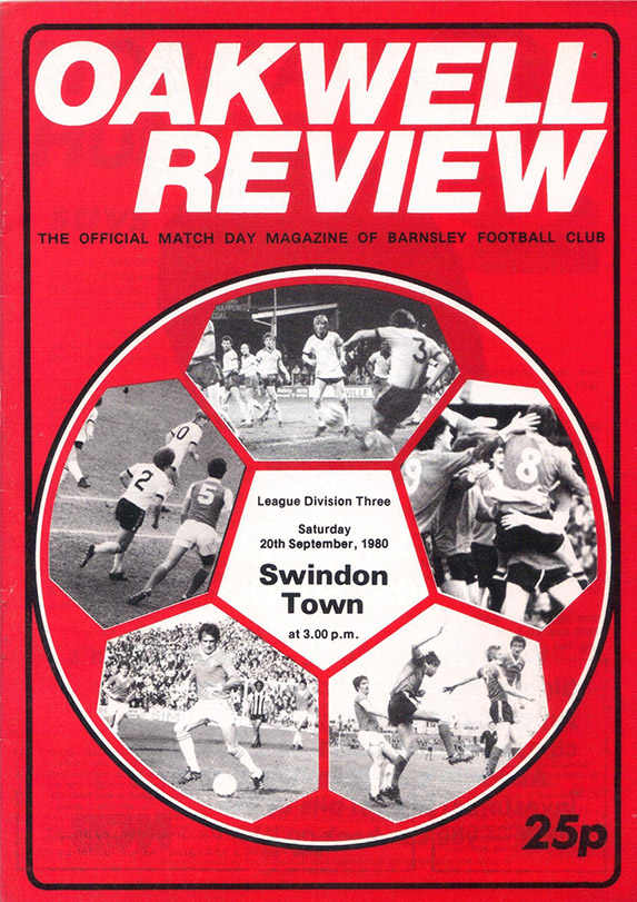 Saturday, September 20, 1980 - vs. Barnsley (Away)