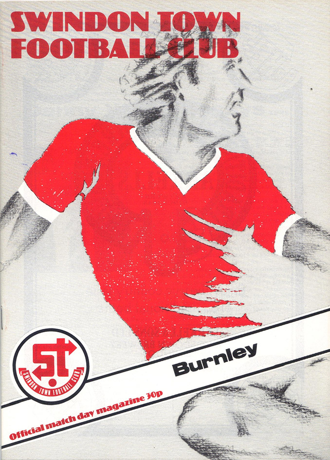 Saturday, November 1, 1980 - vs. Burnley (Home)