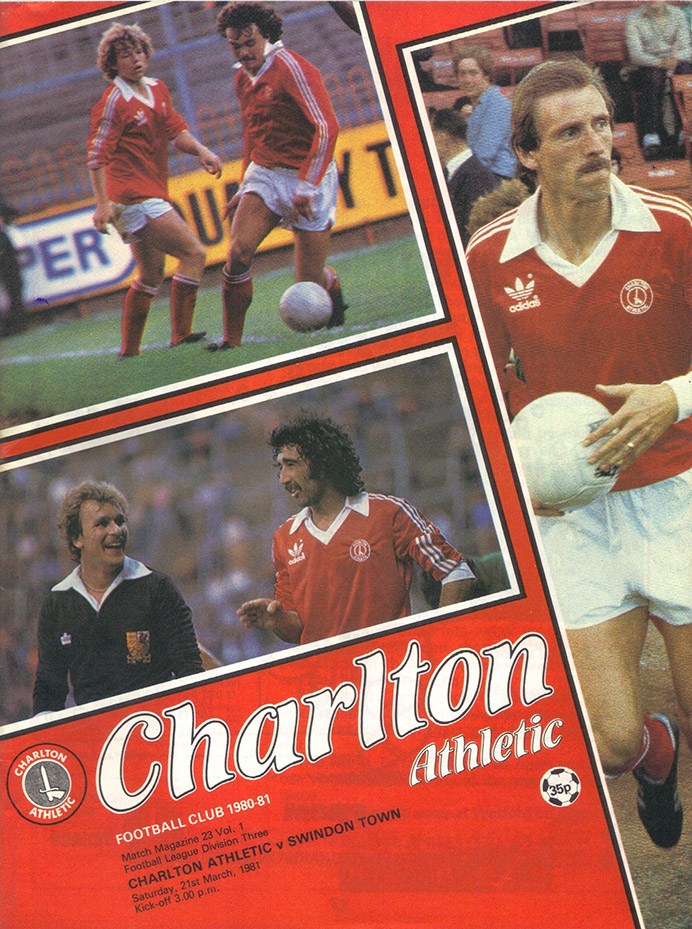 Saturday, March 21, 1981 - vs. Charlton Athletic (Away)