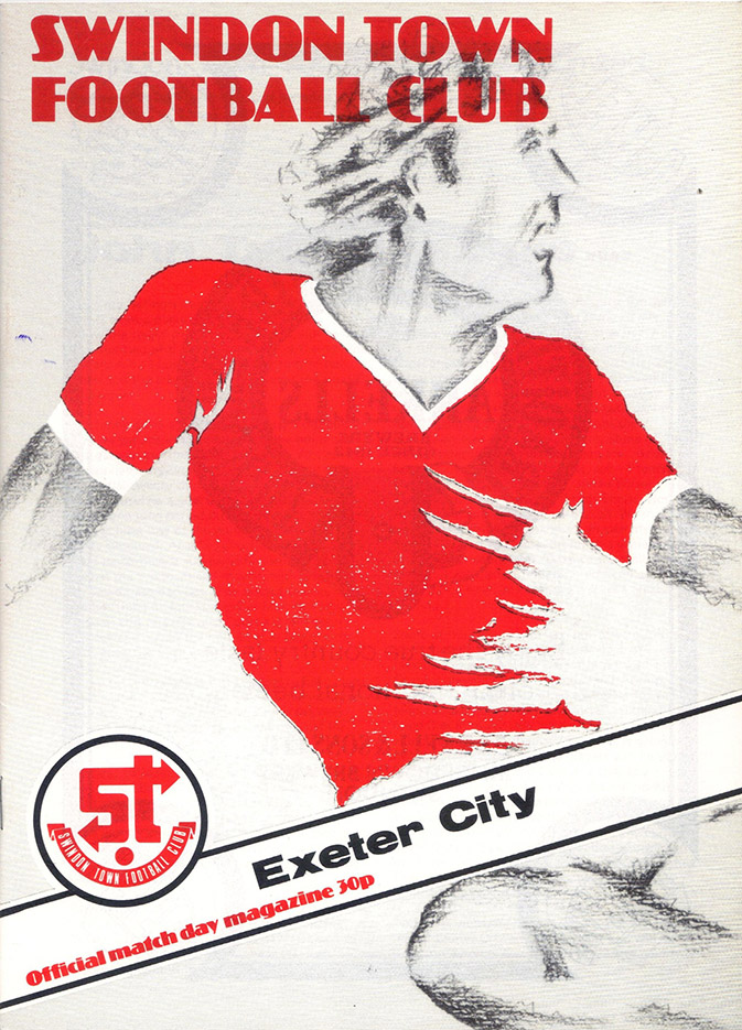 Saturday, March 28, 1981 - vs. Exeter City (Home)