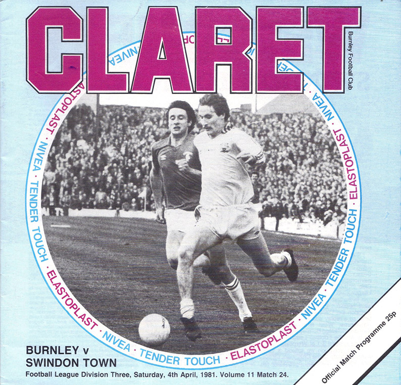 Saturday, April 4, 1981 - vs. Burnley (Away)