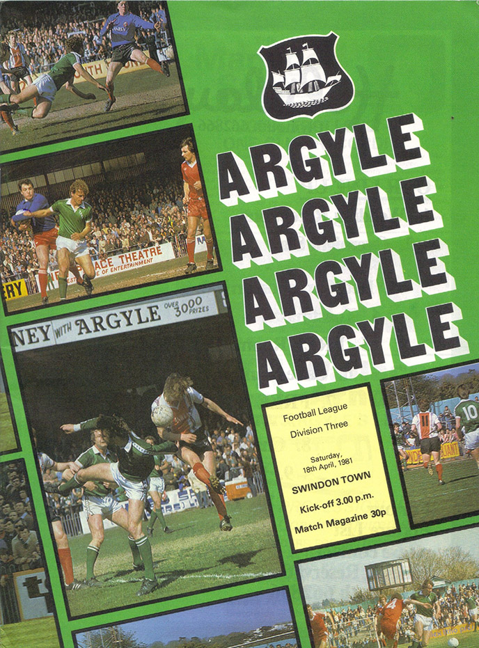 Saturday, April 18, 1981 - vs. Plymouth Argyle (Away)