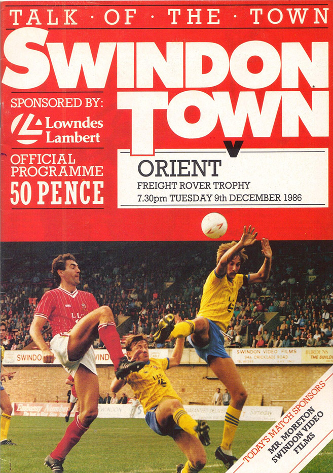 Tuesday, December 9, 1986 - vs. Orient (Home)
