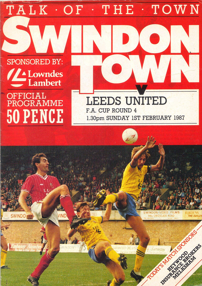 Tuesday, February 3, 1987 - vs. Leeds United (Home)