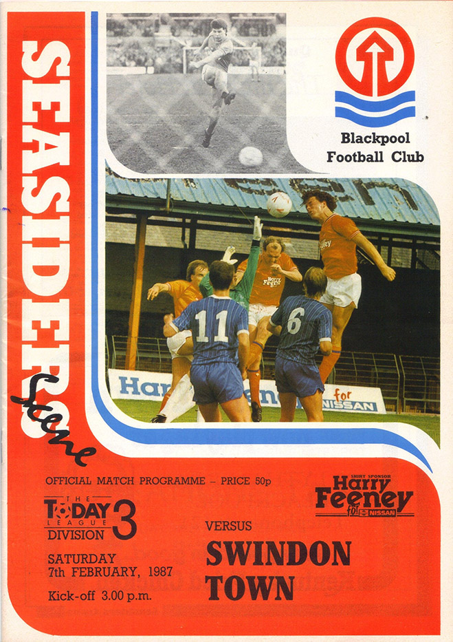 Saturday, February 7, 1987 - vs. Blackpool (Away)