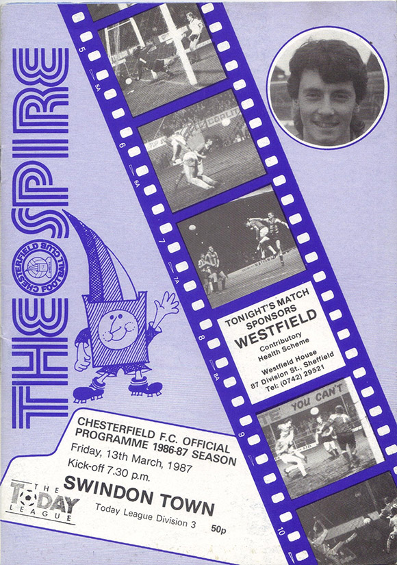 Saturday, March 14, 1987 - vs. Chesterfield (Away)