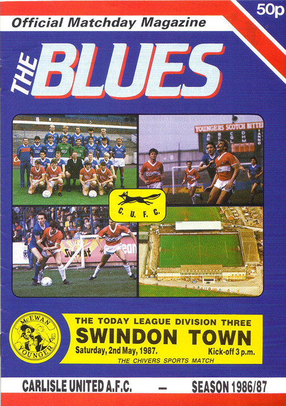 Saturday, May 2, 1987 - vs. Carlisle United (Away)