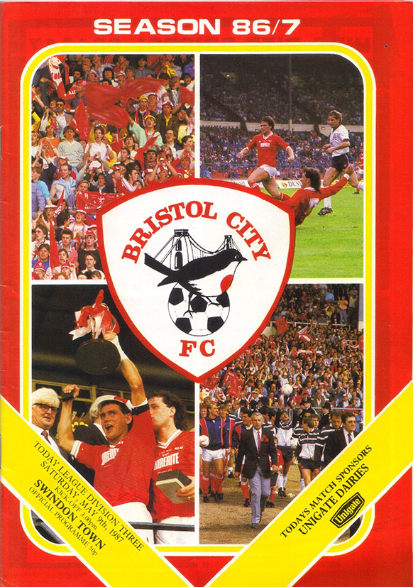 Saturday, May 9, 1987 - vs. Bristol City (Away)