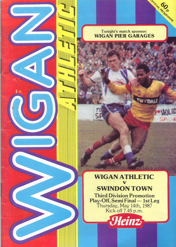Thursday, May 14, 1987 - vs. Wigan Athletic (Away)