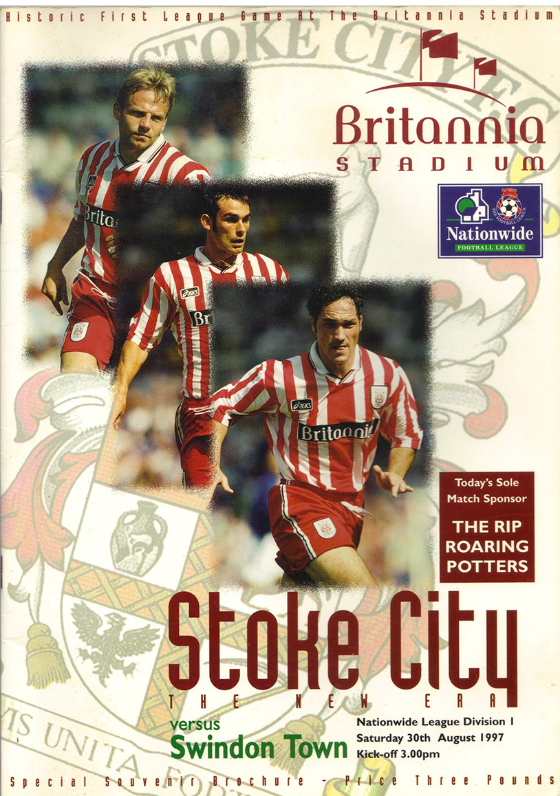 <b>Saturday, August 30, 1997</b><br />vs. Stoke City (Away)