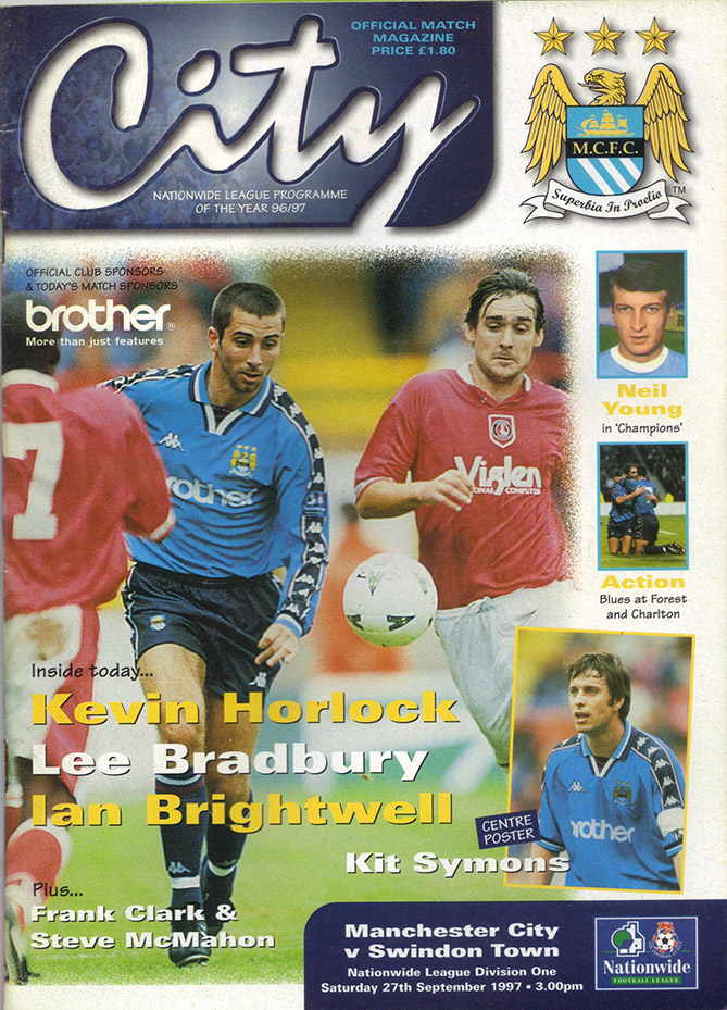 <b>Saturday, September 27, 1997</b><br />vs. Manchester City (Away)