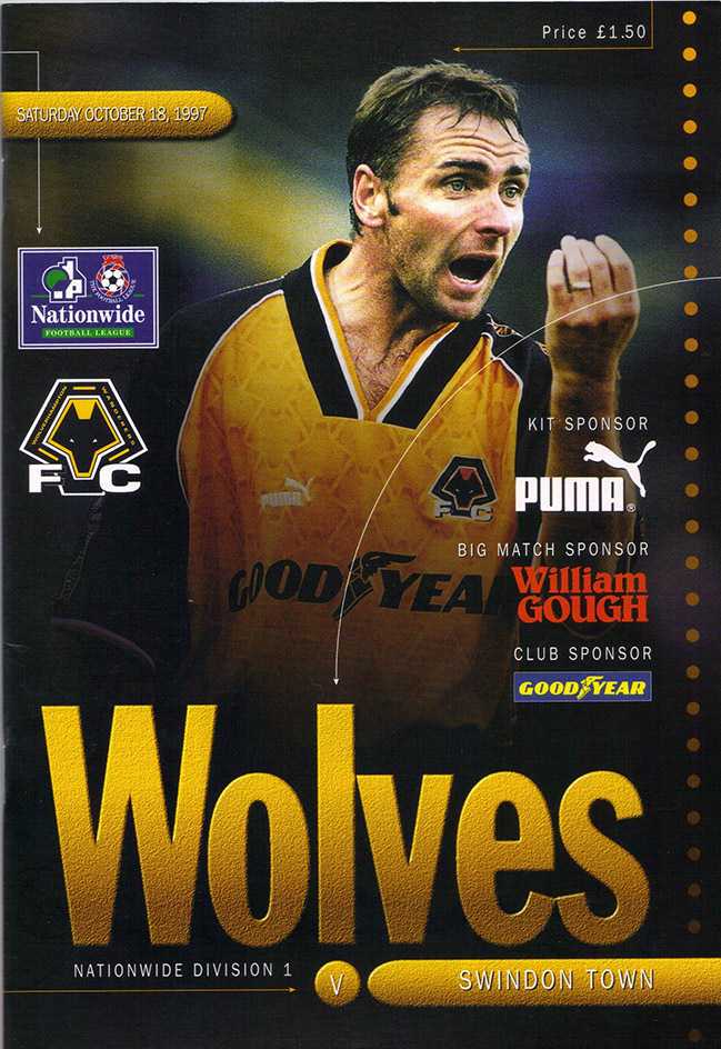 <b>Saturday, October 18, 1997</b><br />vs. Wolverhampton Wanderers (Away)