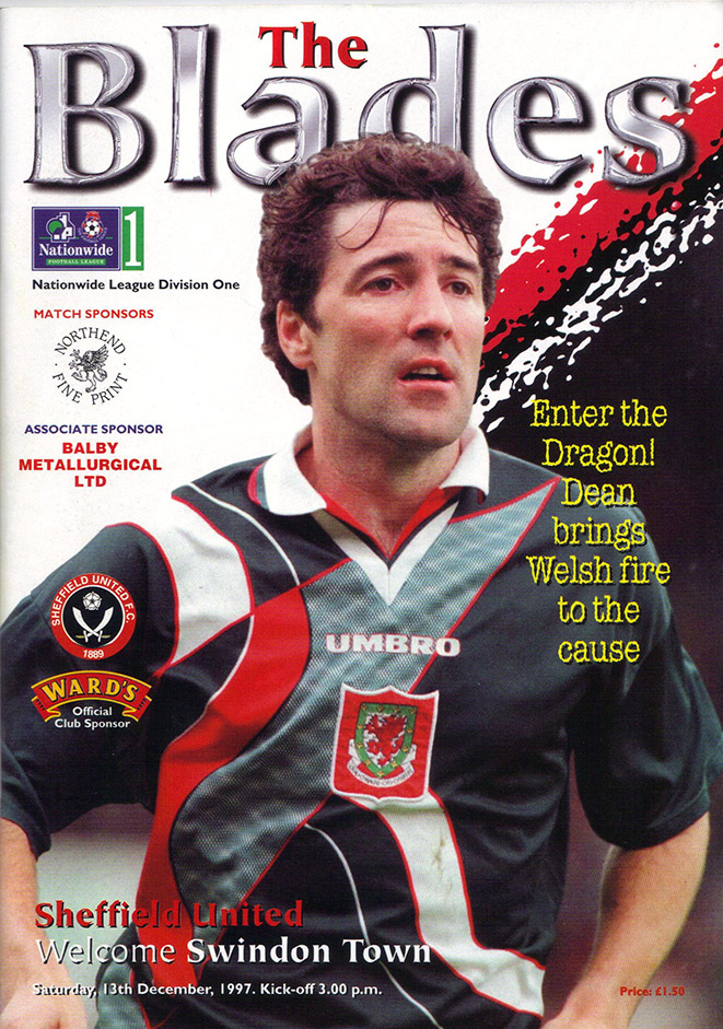 <b>Saturday, December 13, 1997</b><br />vs. Sheffield United (Away)