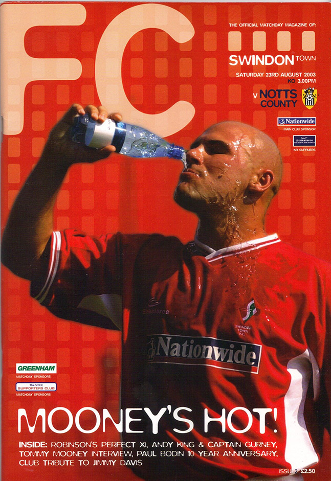 Saturday, August 23, 2003 - vs. Notts County (Home)