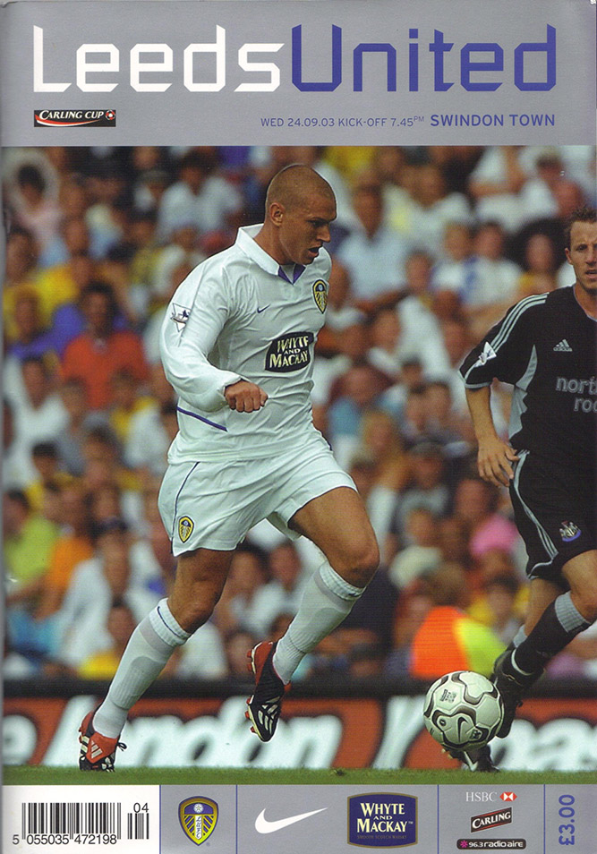 Wednesday, September 24, 2003 - vs. Leeds United (Away)