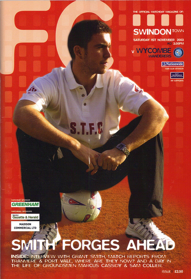 Saturday, November 1, 2003 - vs. Wycombe Wanderers (Home)