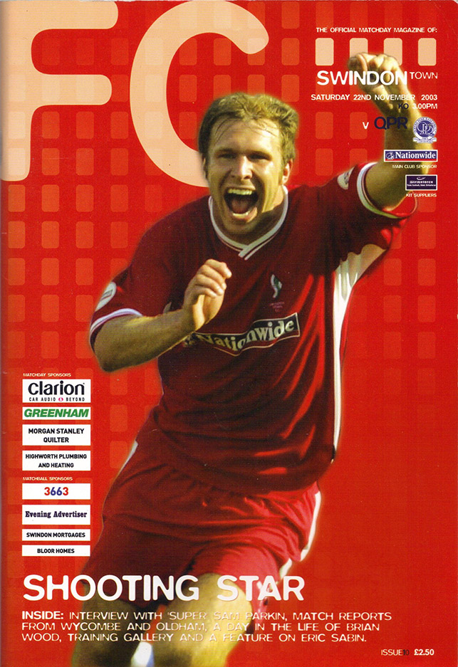Saturday, November 22, 2003 - vs. Queens Park Rangers (Home)