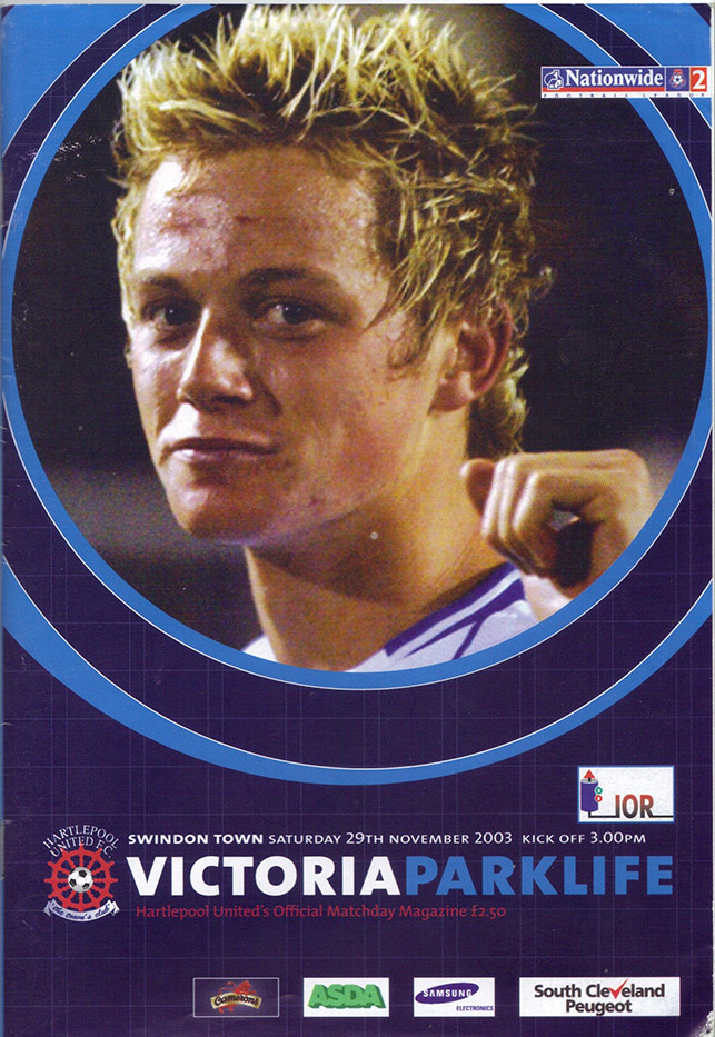 Saturday, November 29, 2003 - vs. Hartlepool United (Away)