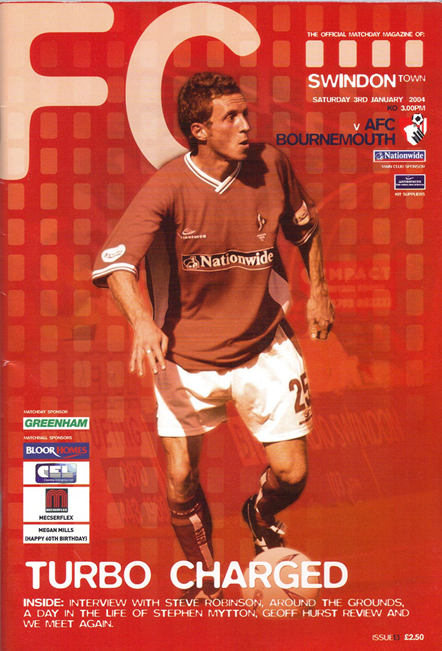 Saturday, January 3, 2004 - vs. AFC Bournemouth (Home)