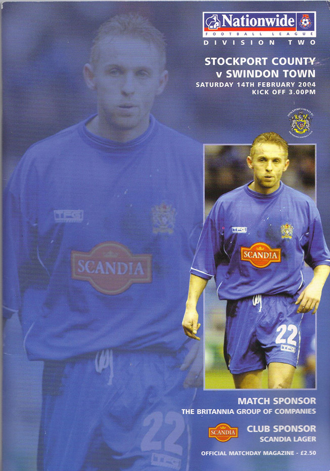 Saturday, February 14, 2004 - vs. Stockport County (Away)
