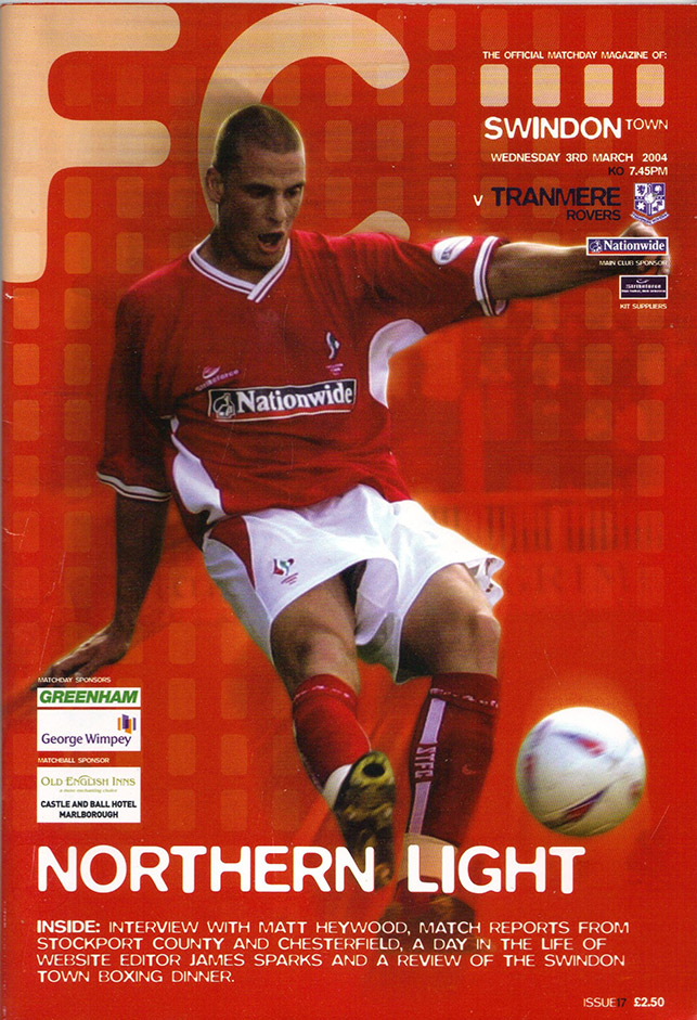 Wednesday, March 3, 2004 - vs. Tranmere Rovers (Home)