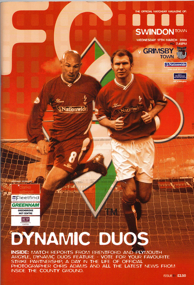 Wednesday, March 17, 2004 - vs. Grimsby Town (Home)