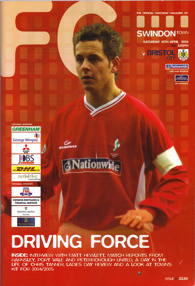 Saturday, April 10, 2004 - vs. Bristol City (Home)