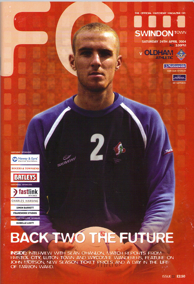 Saturday, April 24, 2004 - vs. Oldham Athletic (Home)