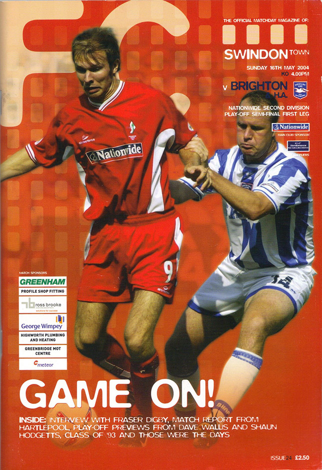 Sunday, May 16, 2004 - vs. Brighton and Hove Albion (Home)