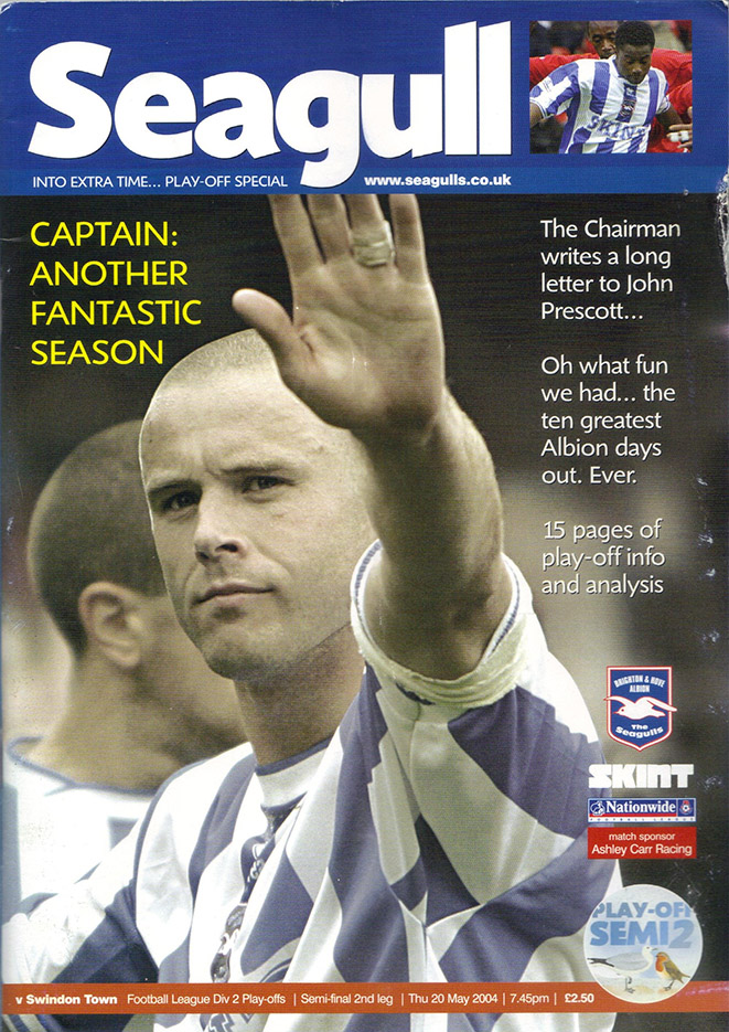Thursday, May 20, 2004 - vs. Brighton and Hove Albion (Away)