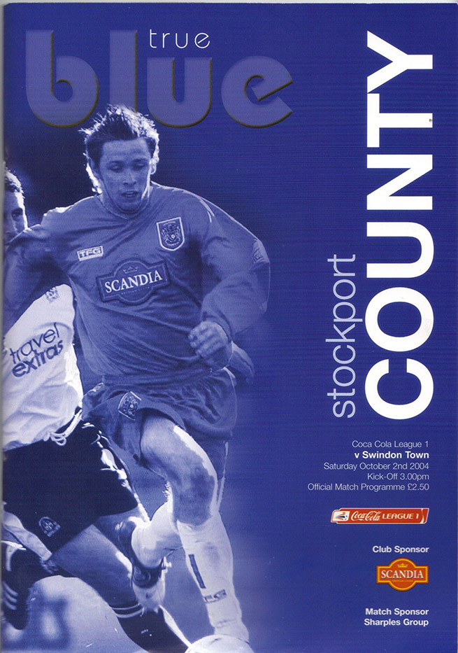 <b>Saturday, October 2, 2004</b><br />vs. Stockport County (Away)
