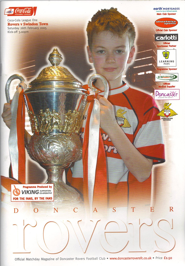 <b>Saturday, February 26, 2005</b><br />vs. Doncaster Rovers (Away)