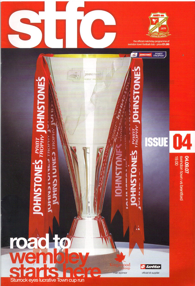 Tuesday, September 4, 2007 - vs. Brentford (Home)