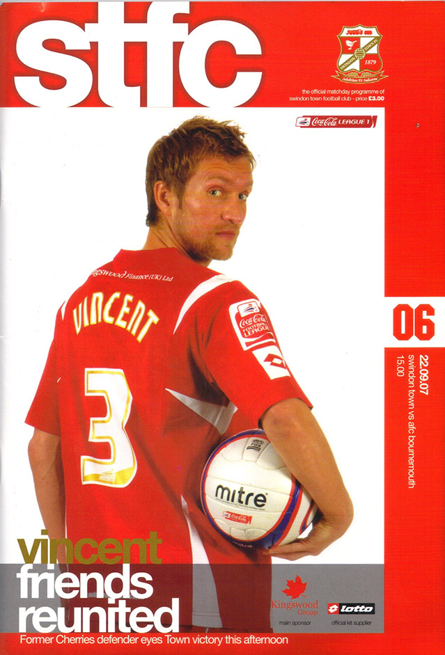 Saturday, September 22, 2007 - vs. AFC Bournemouth (Home)