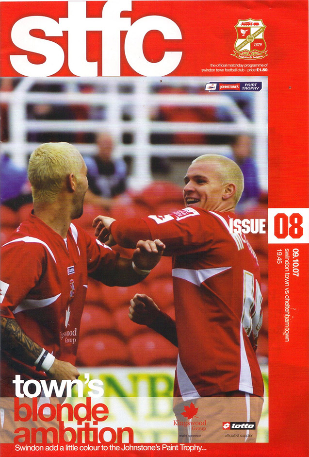 Tuesday, October 9, 2007 - vs. Cheltenham Town (Home)