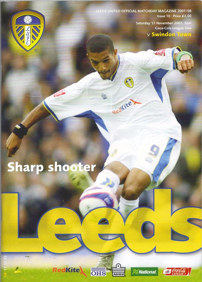 Saturday, November 17, 2007 - vs. Leeds United (Away)