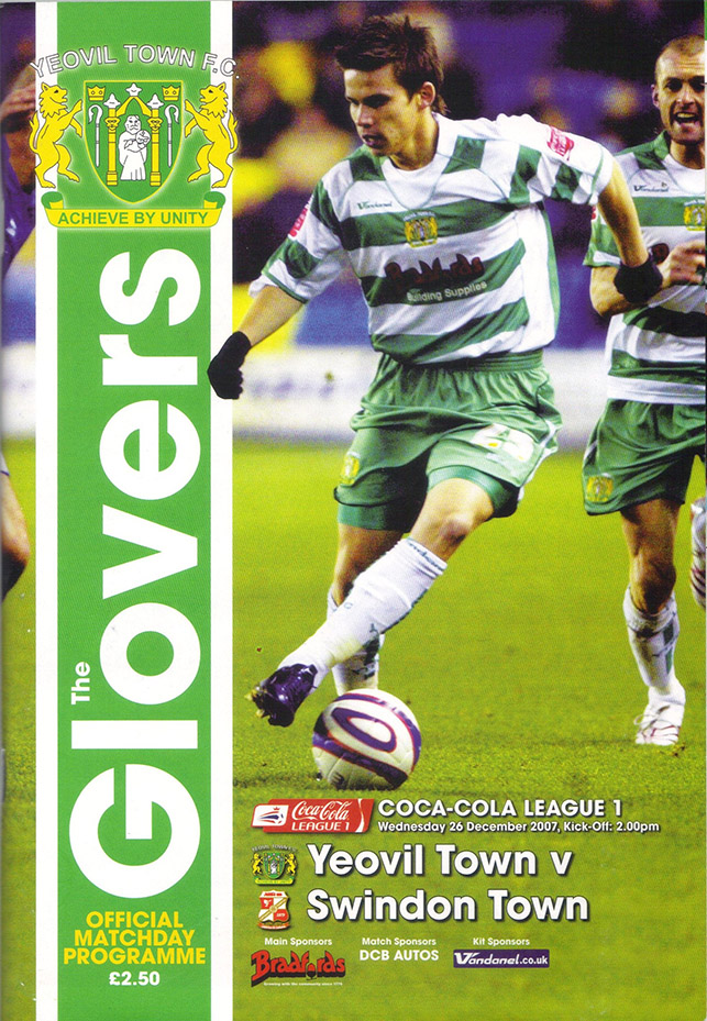 Wednesday, December 26, 2007 - vs. Yeovil Town (Away)