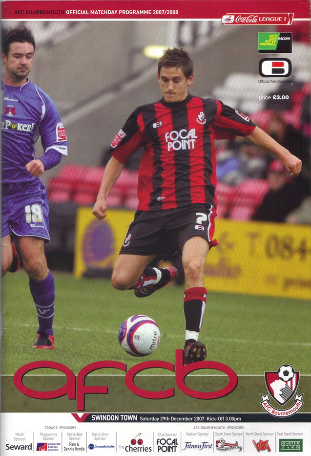 Saturday, December 29, 2007 - vs. AFC Bournemouth (Away)