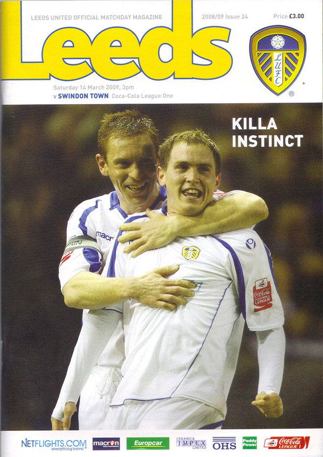 Saturday, March 14, 2009 - vs. Leeds United (Away)
